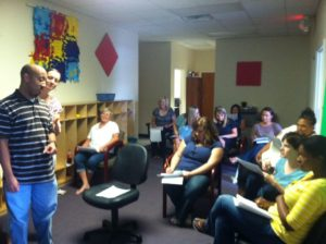 Behavior analysis training at Building Blocks Center for Children with Autism